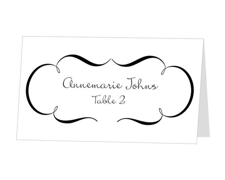 Table Placement Cards. Love It. Special Custom Cards For Events ...
