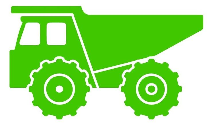 Gallery images and information: Dump Truck Silhouette Vector