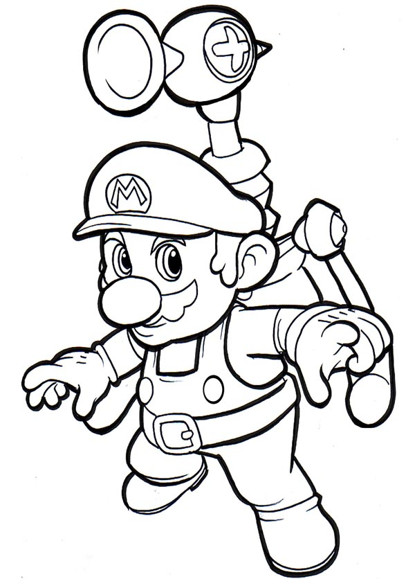 Super Mario Bros Images Print