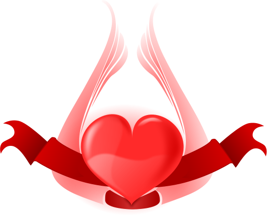 Free Valentine Banners Clipart, 1 page of Public Domain Clip Art