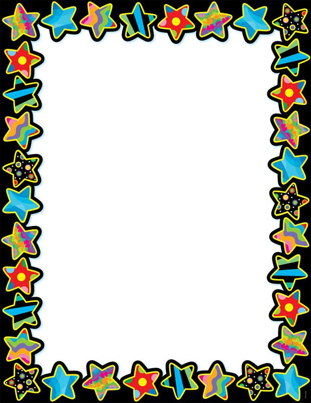 Poppin Pattern Stars Blank Chart | CTP1525