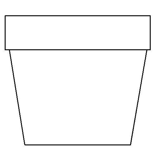 Witty image regarding printable flower pot