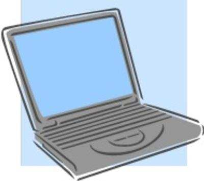 laptop computer clip art clipartsco