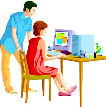 Pictures Of People Using Computers - Cliparts.co