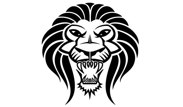 Lion Head Image - Clip...