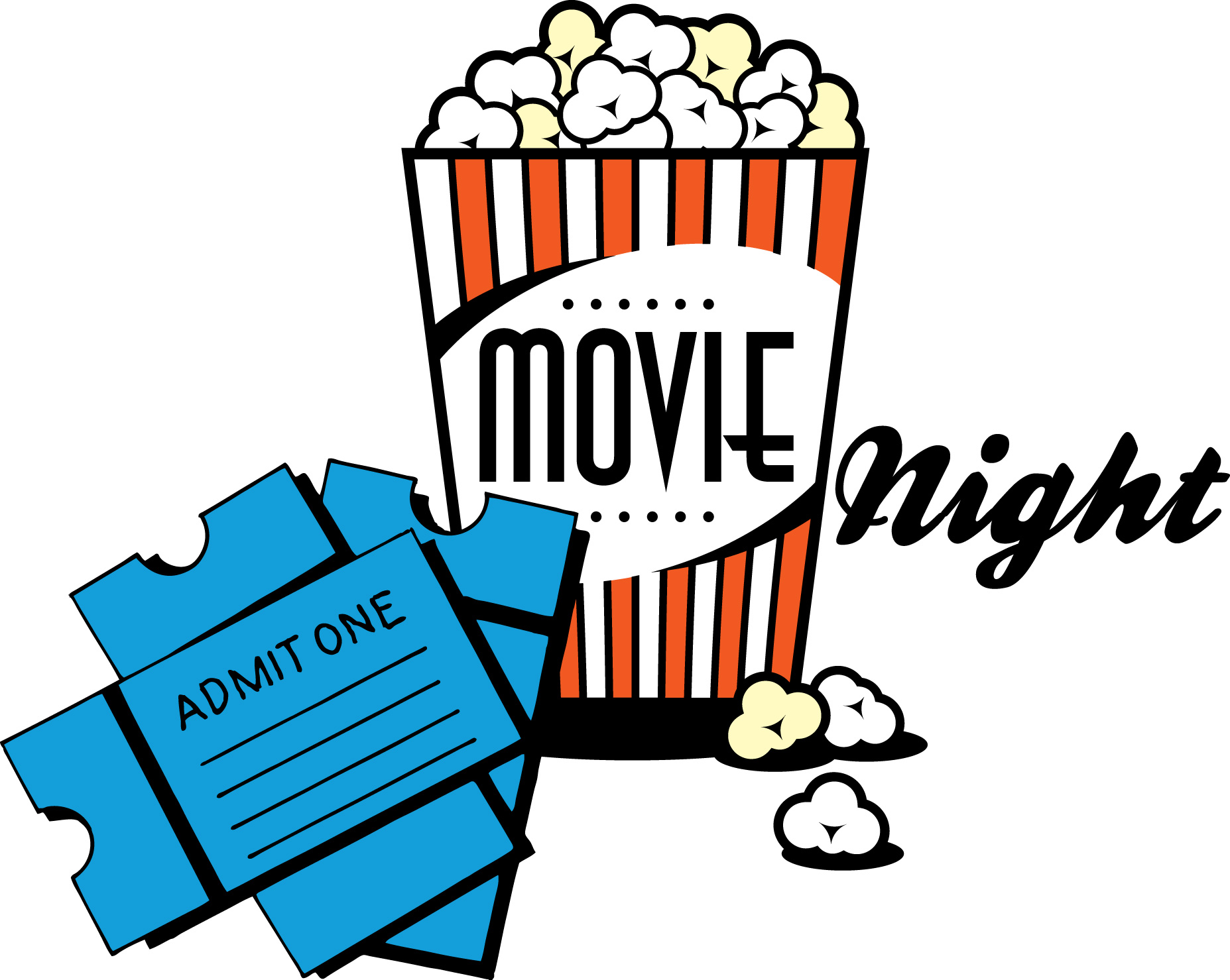 Movie Night Ticket Clipart | Clipart Panda - Free Clipart Images