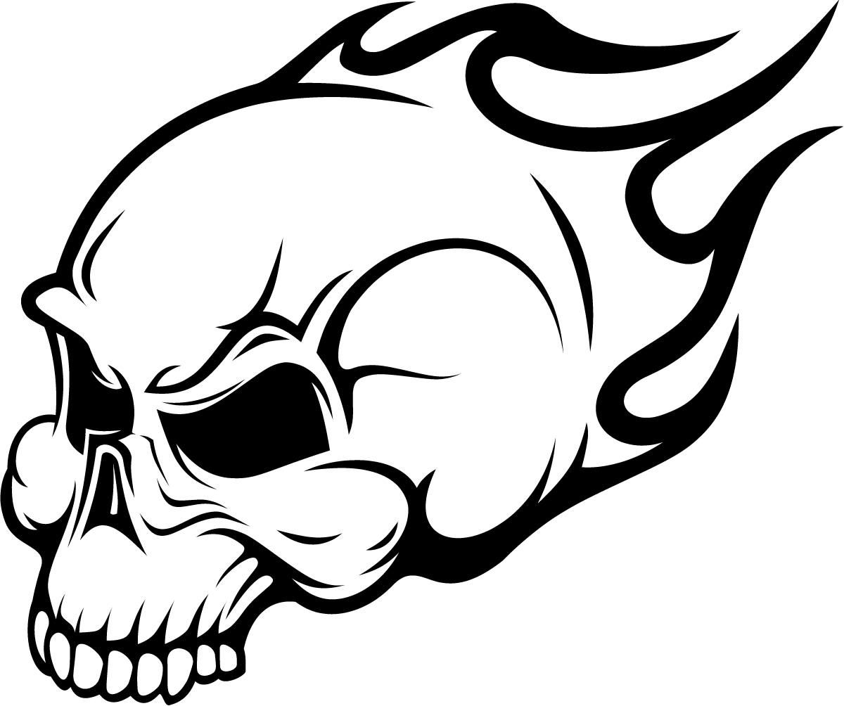 Easy Drawings Of Skulls