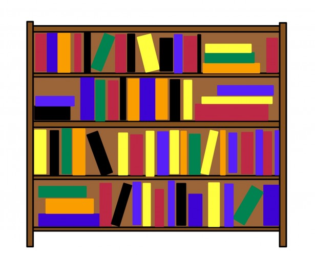 Bookshelf Clipart - Cliparts.co