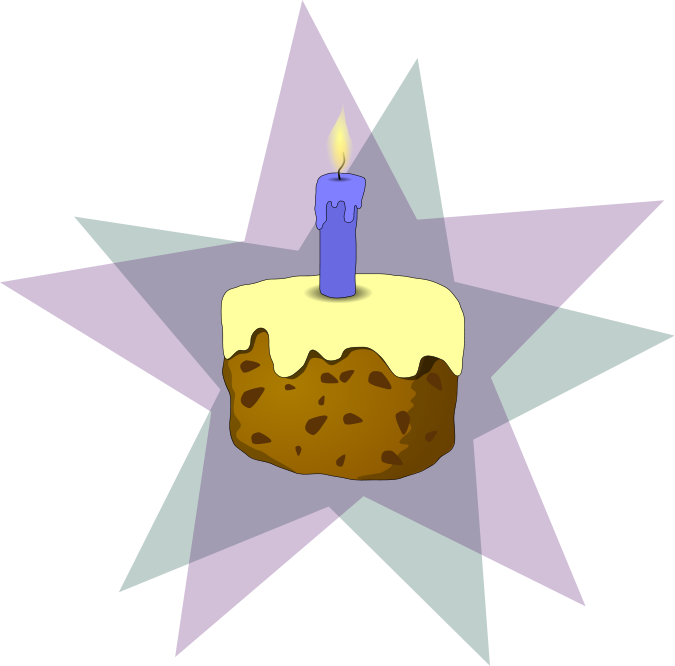 Free Birthday Candle Clipart - Public Domain Holiday/Birthday clip ...