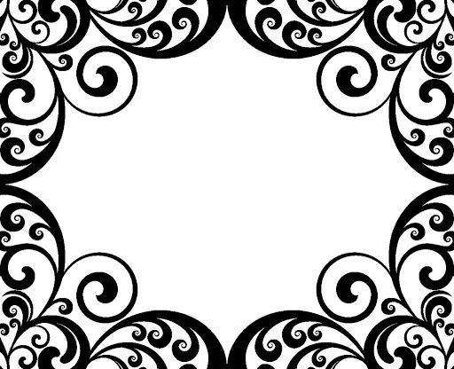 damask borders leon escapers co rh leon escapers co Free Vintage Clip Art free damask pattern clip art