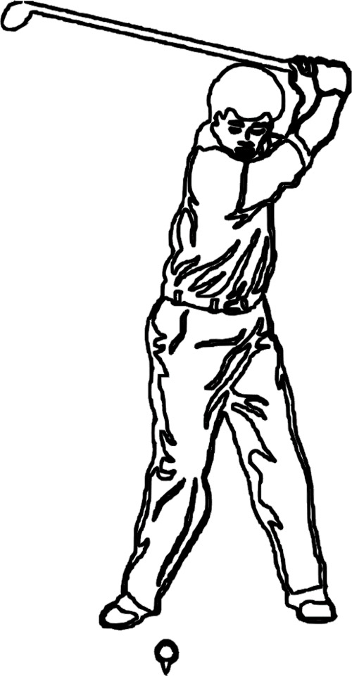 Golf Coloring Pages - GetColoringPages.com | 961x500