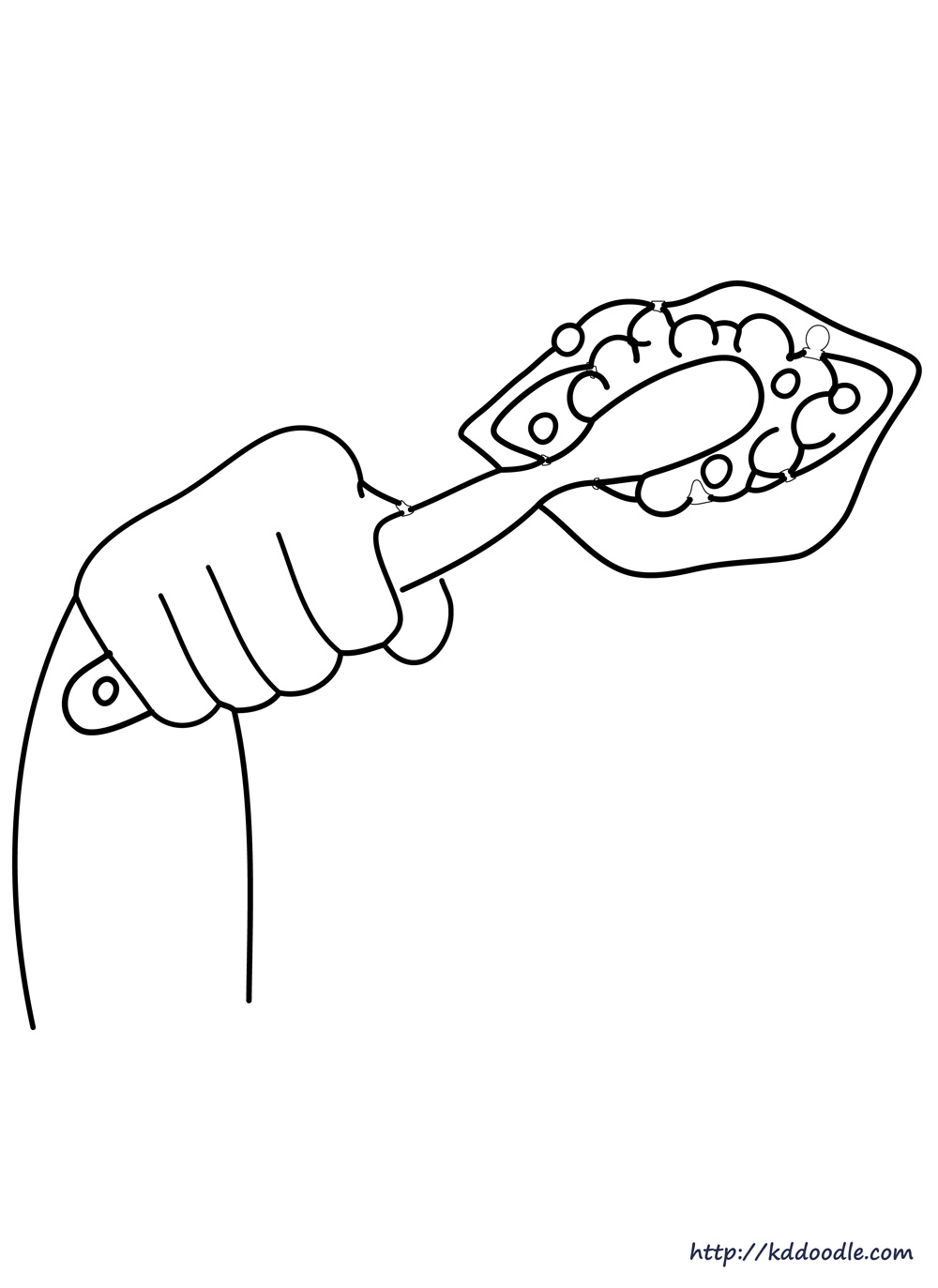 boy brushing teeth coloring pages - photo#20