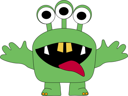 Three Eyed Monster Clip Art | Clipart Panda - Free Clipart Images