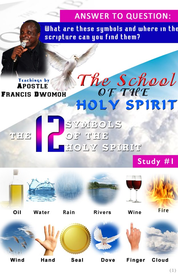 The 12 symbols of the Holy Spirit. - Jesus Christ is the answer to ...