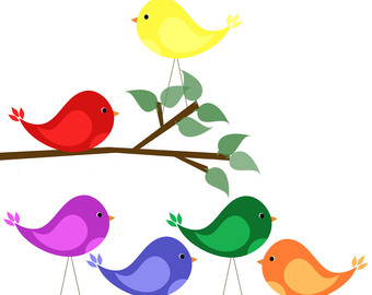 Singing Bird Clip Art - Cliparts.co