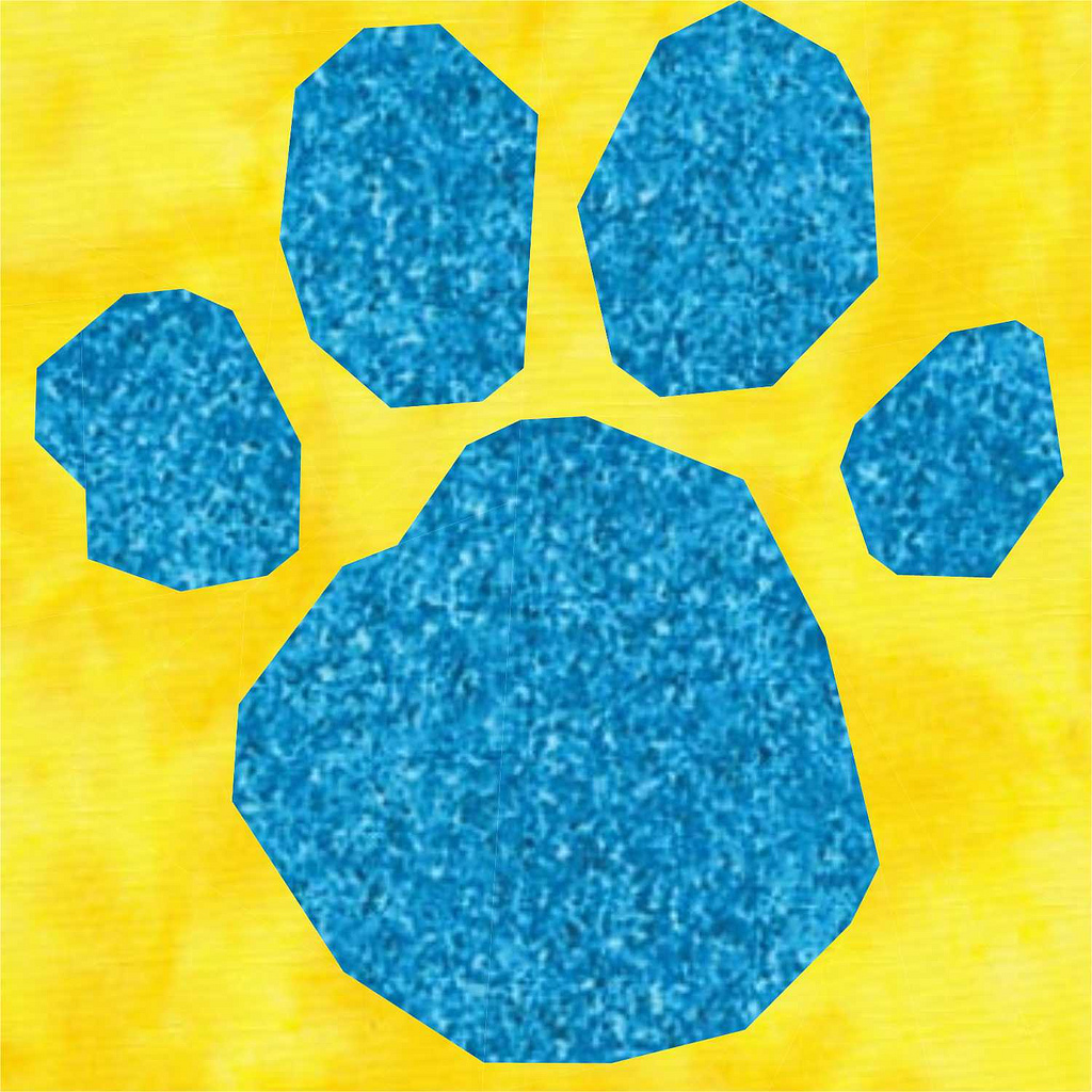 blues clues paw print cliparts co
