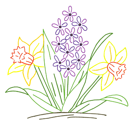 Spring flowers drawing same day flower delivery mightylinksfo
