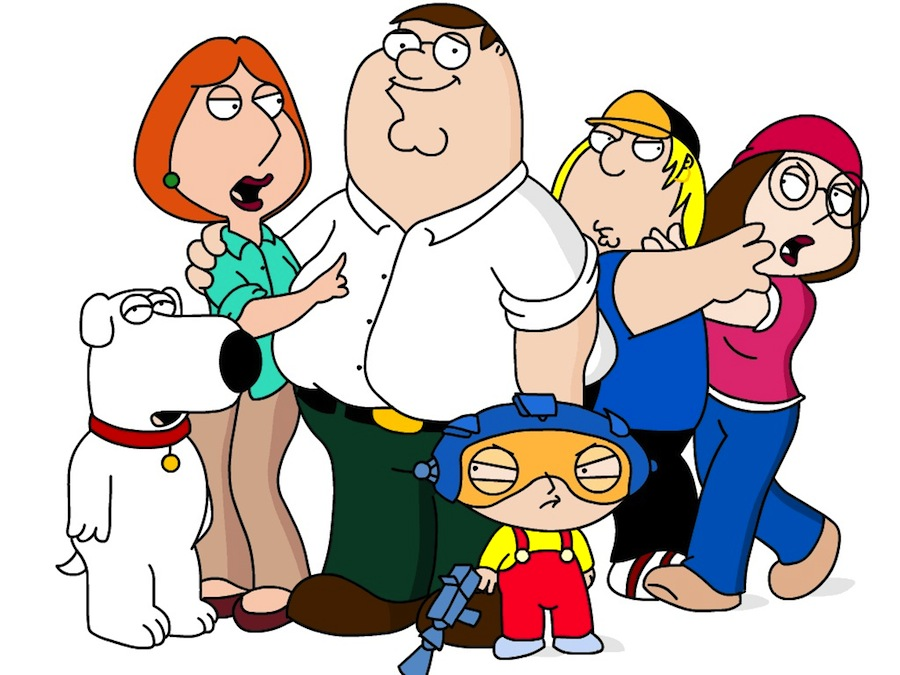 Cartoon Family Of 6 | lol-