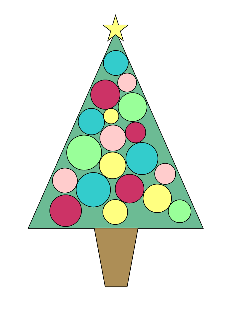 Christmas Tree Free Clip Art Clip Art Animation Graphics Images ...