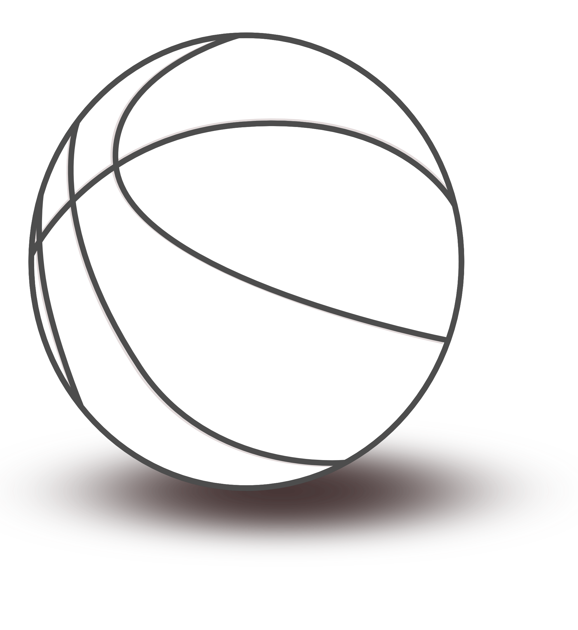 Free Basketball Clipart Black And White - Cliparts.co