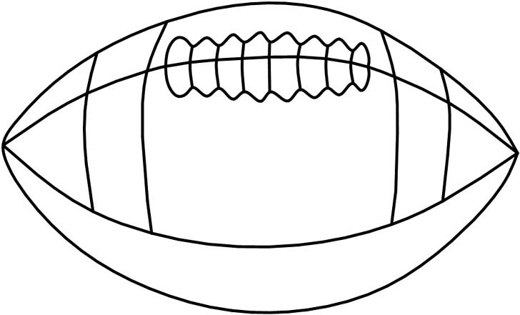Line Drawing Football : Football line drawing cliparts