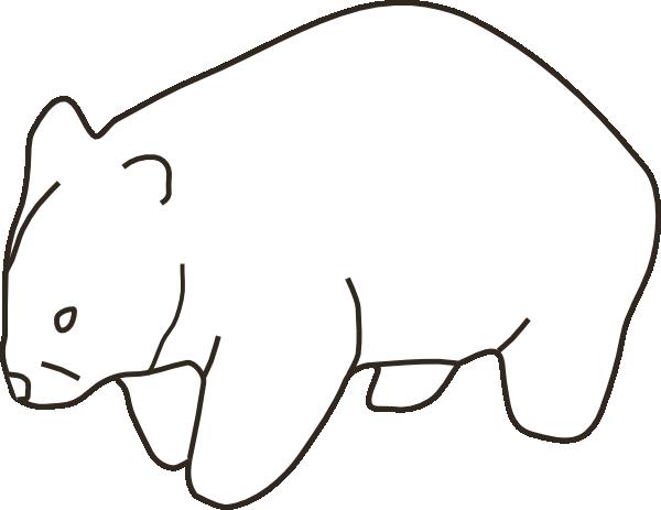 Cartoon Wombat Cliparts Co