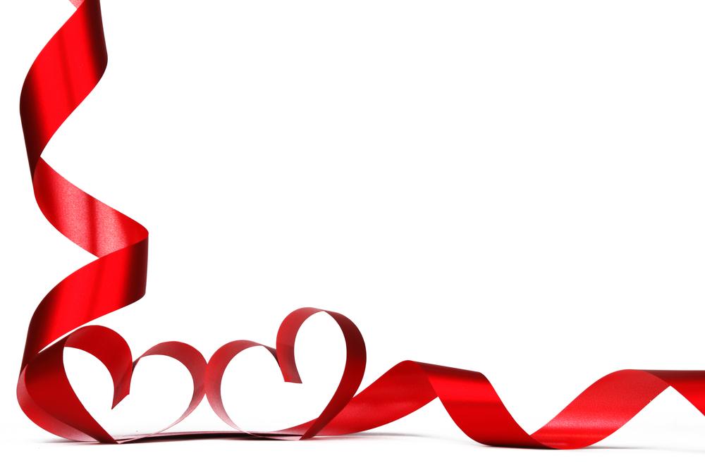 Рамки сердечки из лент