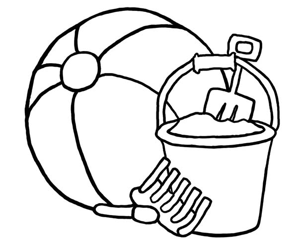 Beach Ball Coloring Pages - Cliparts.co