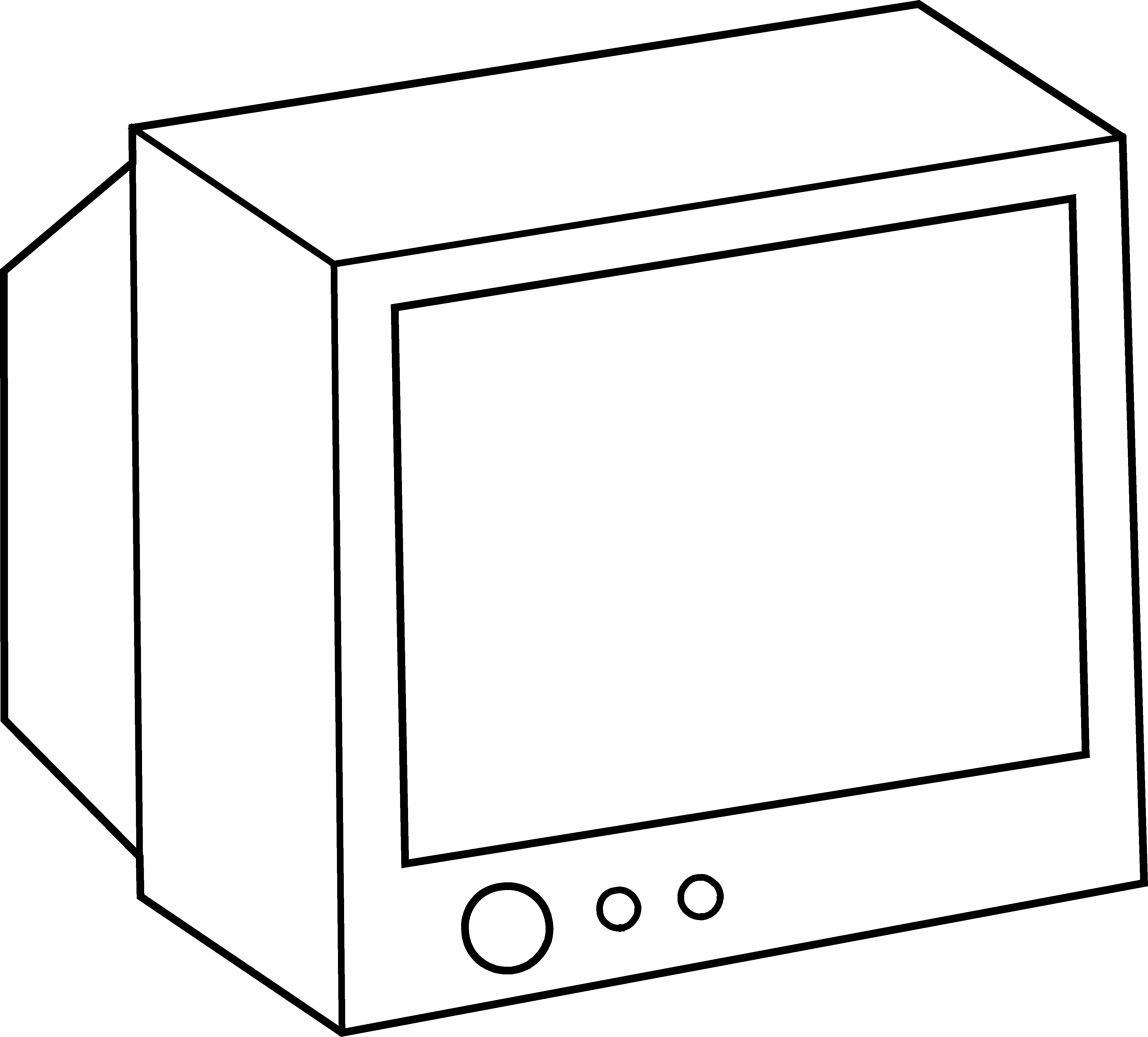 appliances television coloring pages - photo #18