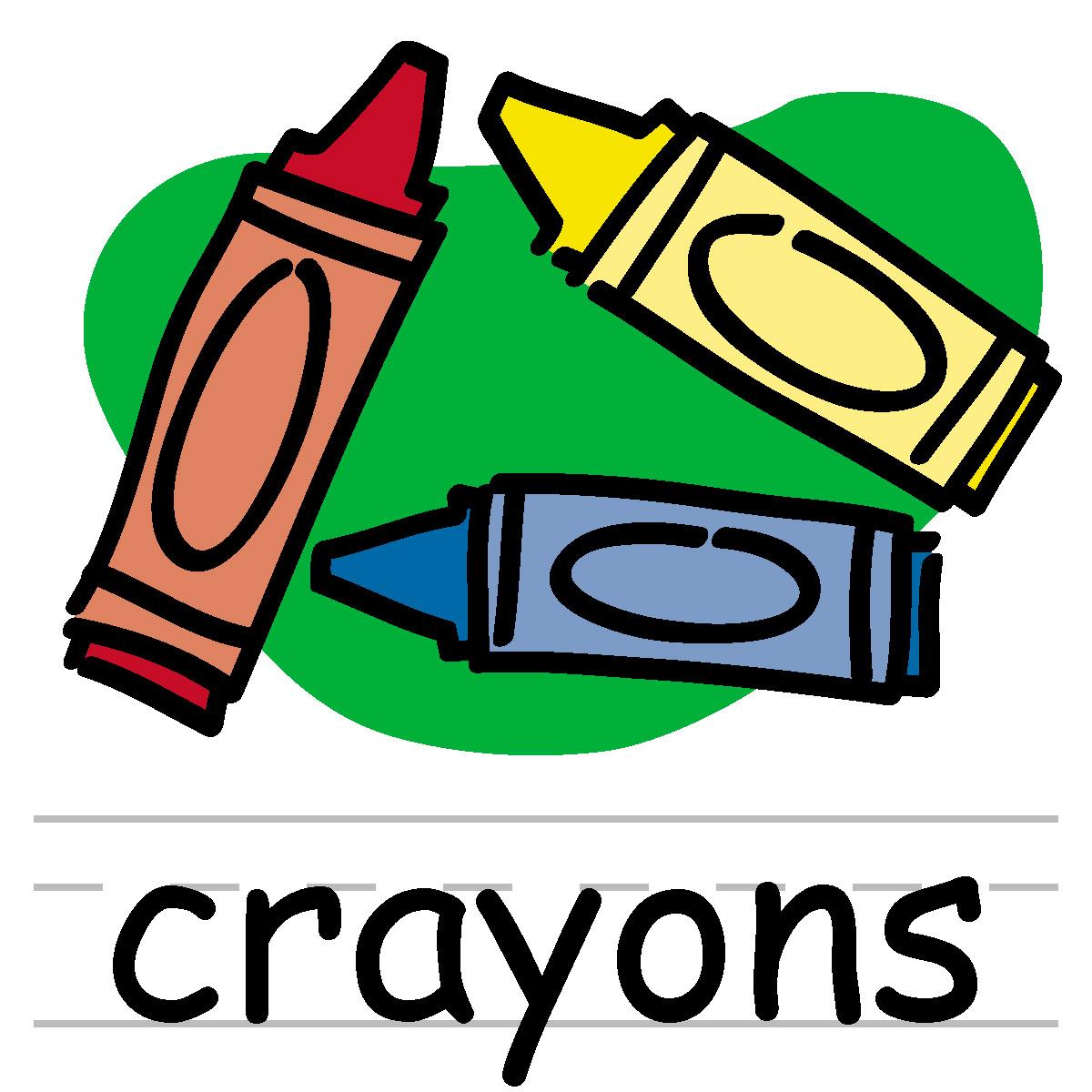 crayon clip art | Clipart Panda - Free Clipart Images