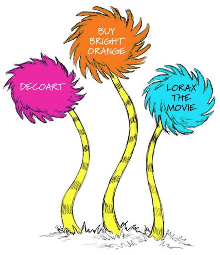 gallery for gt lorax trees clipart clipartsco