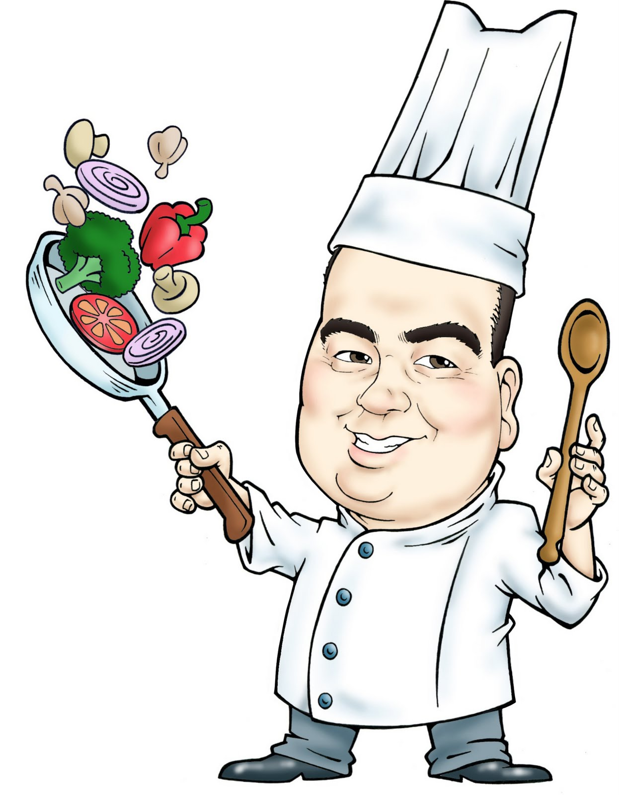 Picture Of Chef - Cliparts.co