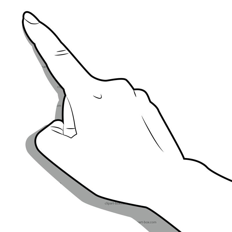 Clip Art Middle Finger - Cliparts.co