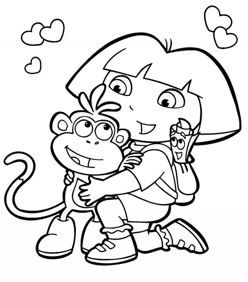 Dora The Explorer Clip Art - Cliparts.co
