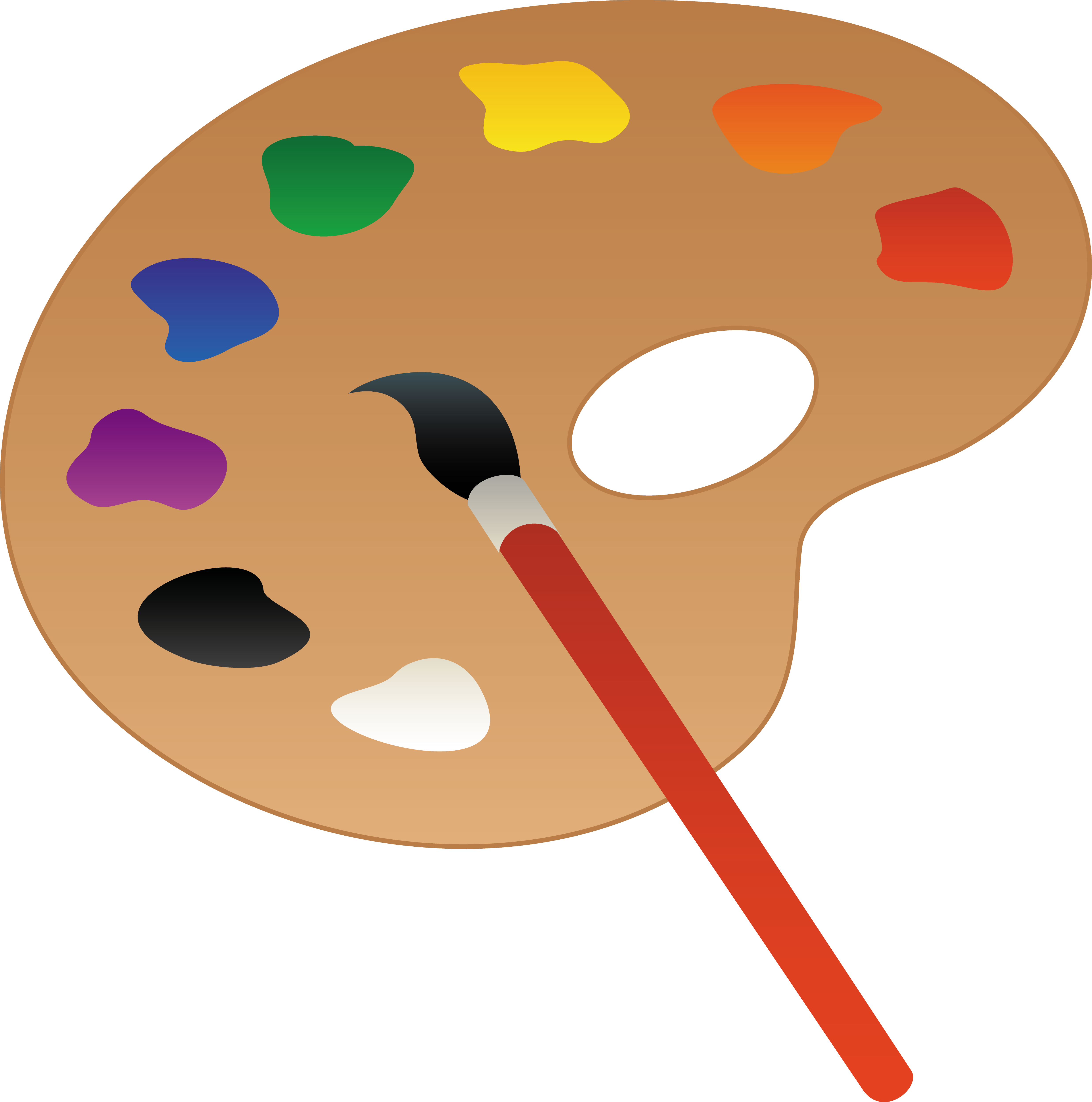 Paint Brush Clip Art Free - Cliparts.co