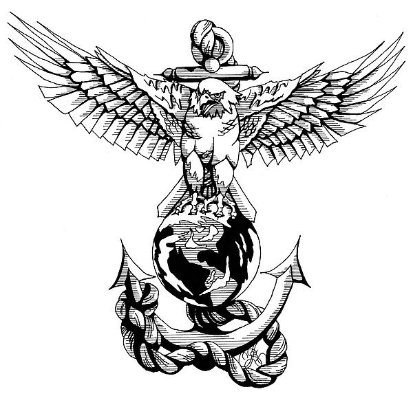 free marine logo clip art-#46