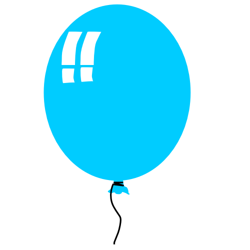 Free Birthday Balloon Clipart - Public Domain Holiday/Birthday ...