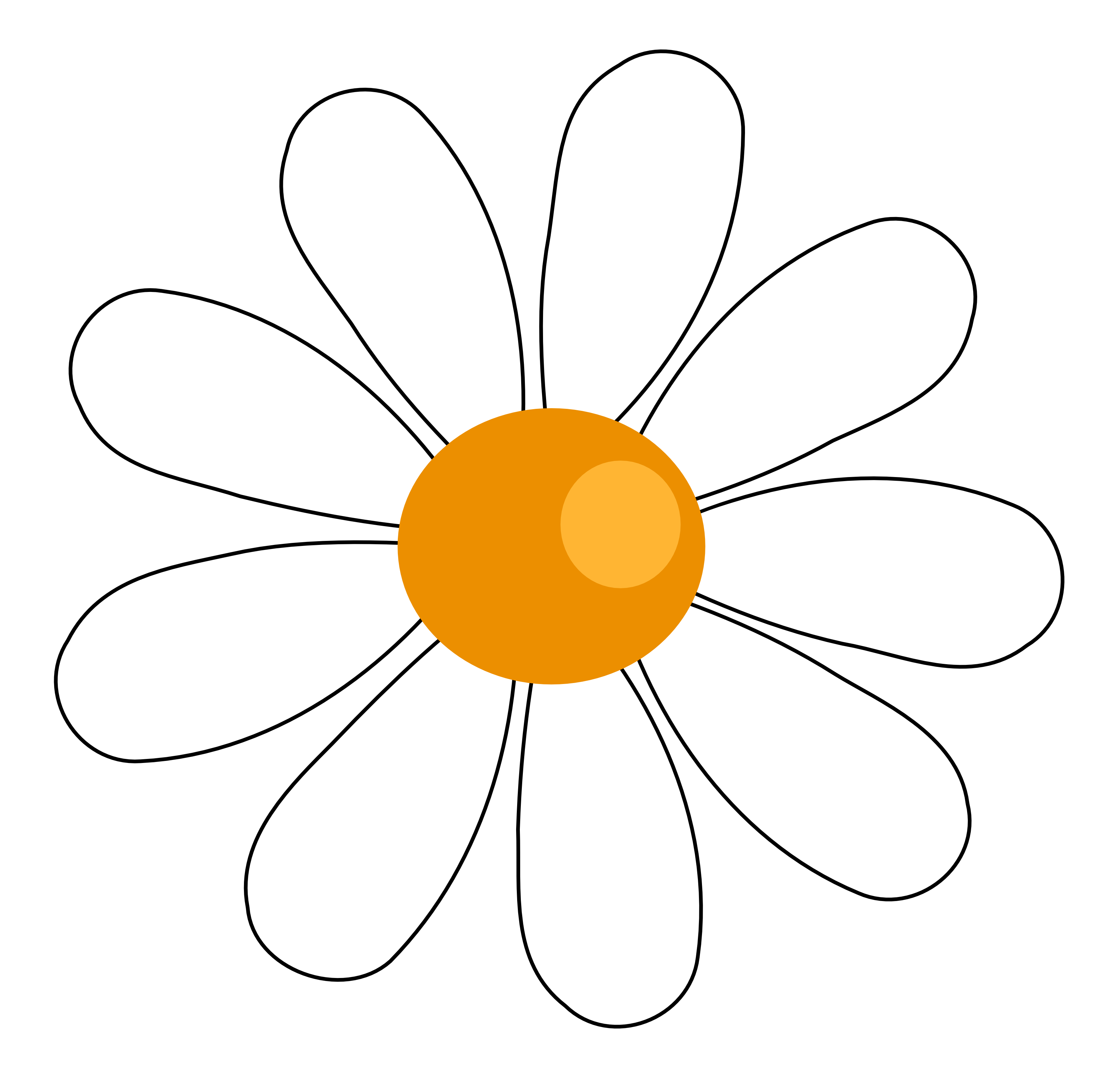 Daisy Clip Art Flowers | Clipart Panda - Free Clipart Images
