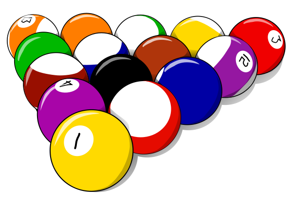 Pics Of Pool Balls - Cliparts.co