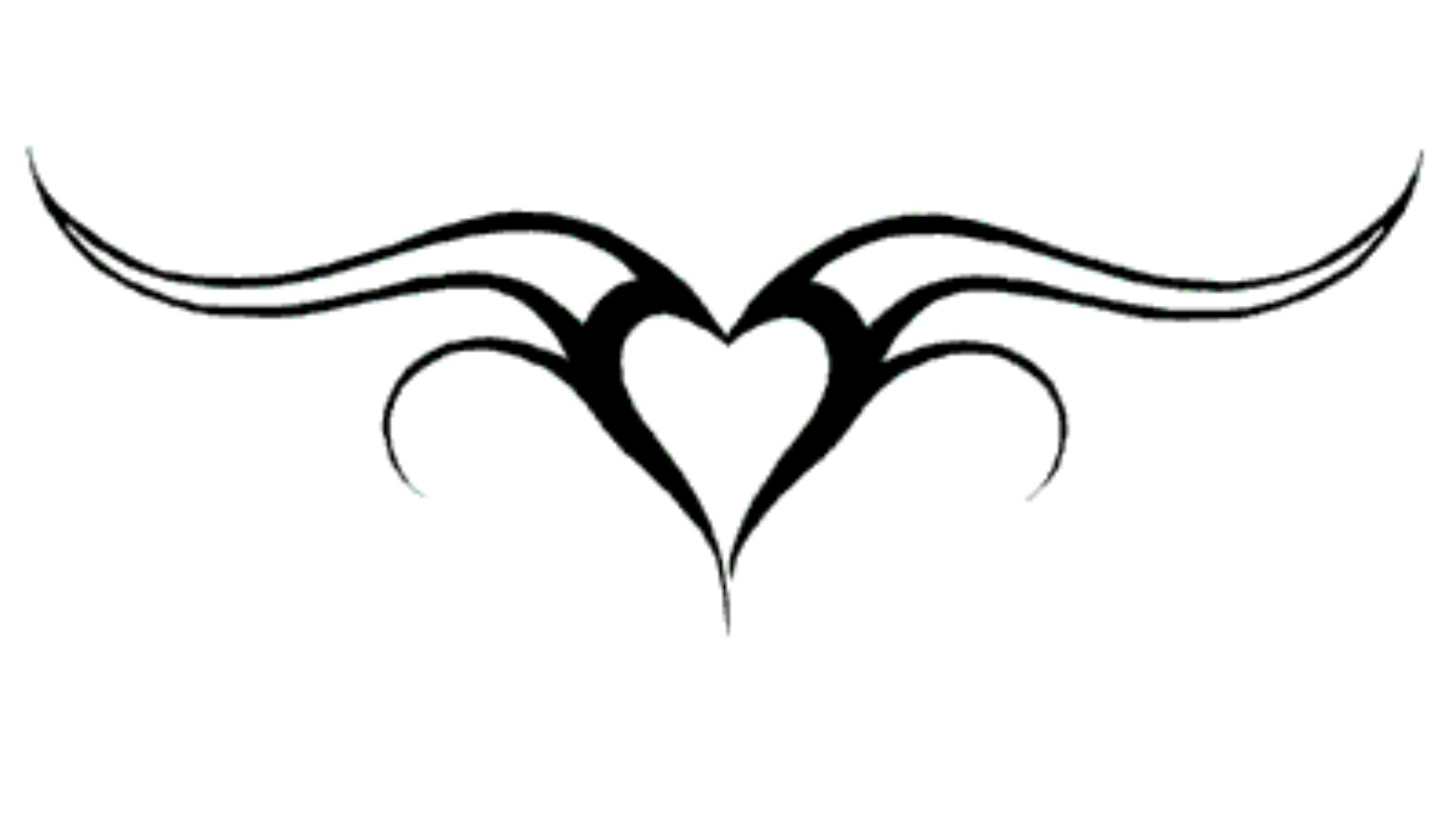 Free Heart Tattoo Designs Cliparts Co