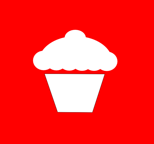 Cupcake Outline - ClipArt Best