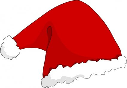 Clothing Santa Hat clip art - Download free Christmas vectors