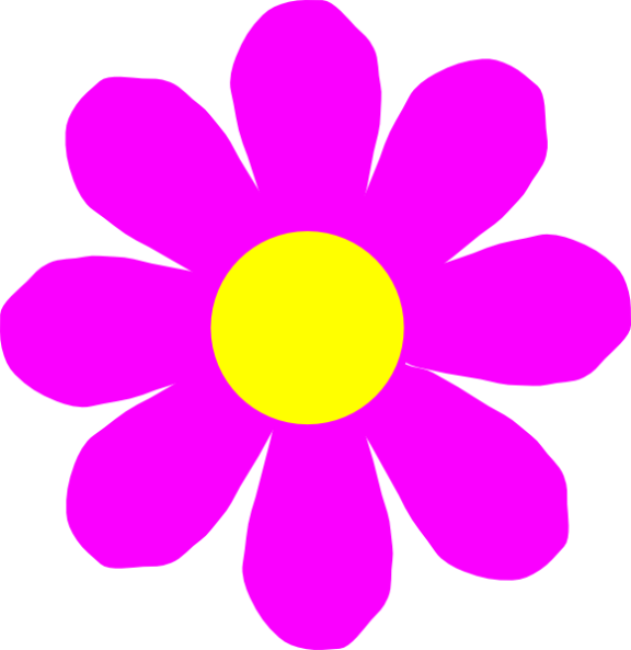 Free Clip Art Single Flower