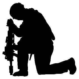 Soldier Silhouette Clip Art - Cliparts.co