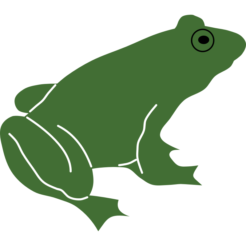 Clipart - Frog by Rones