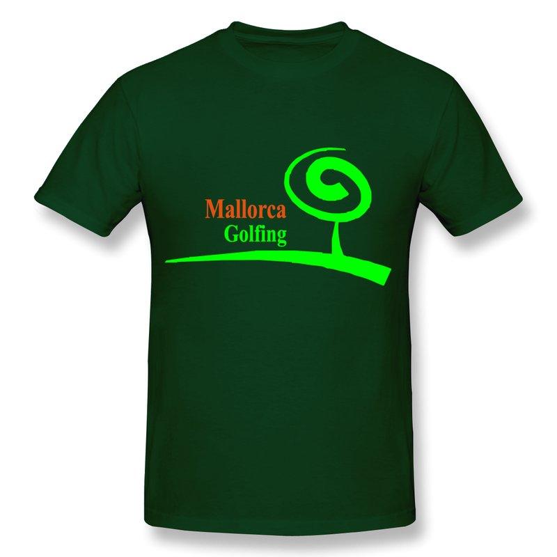 Golf shirt design logo
