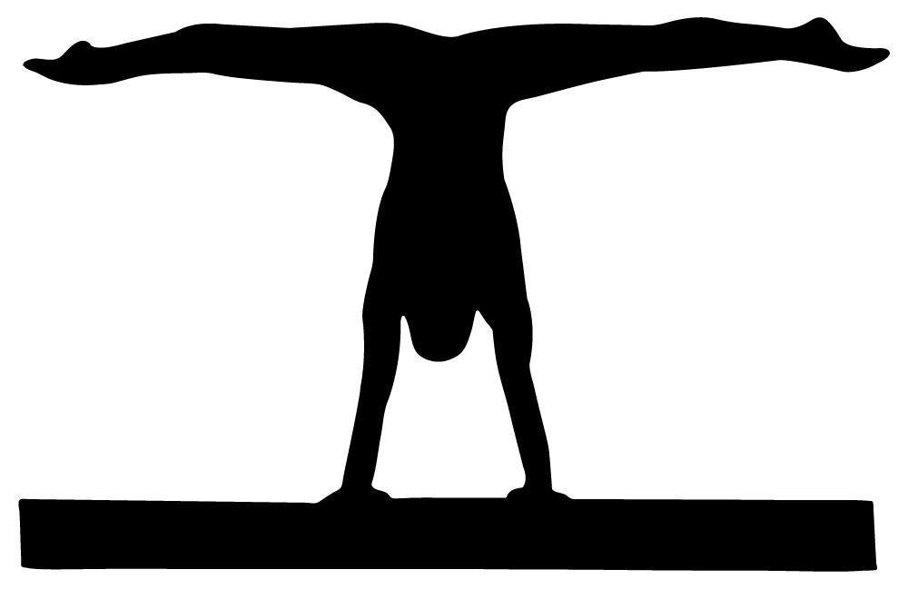 Gymnastics vinyl wall decals