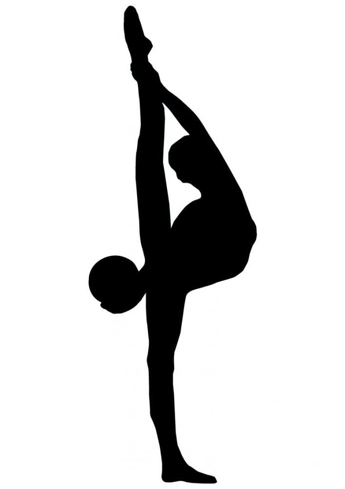 Gymnastics Silhouette Clip Art - Cliparts.co
