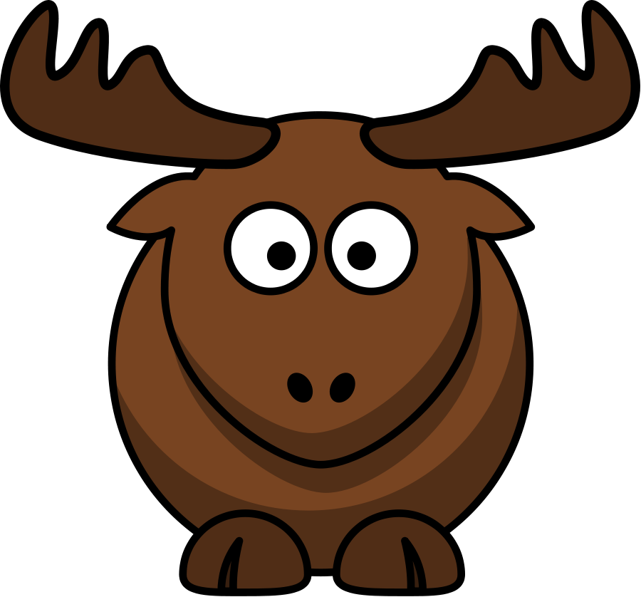 Cartoon elk Clipart, vector clip art online, royalty free design ...