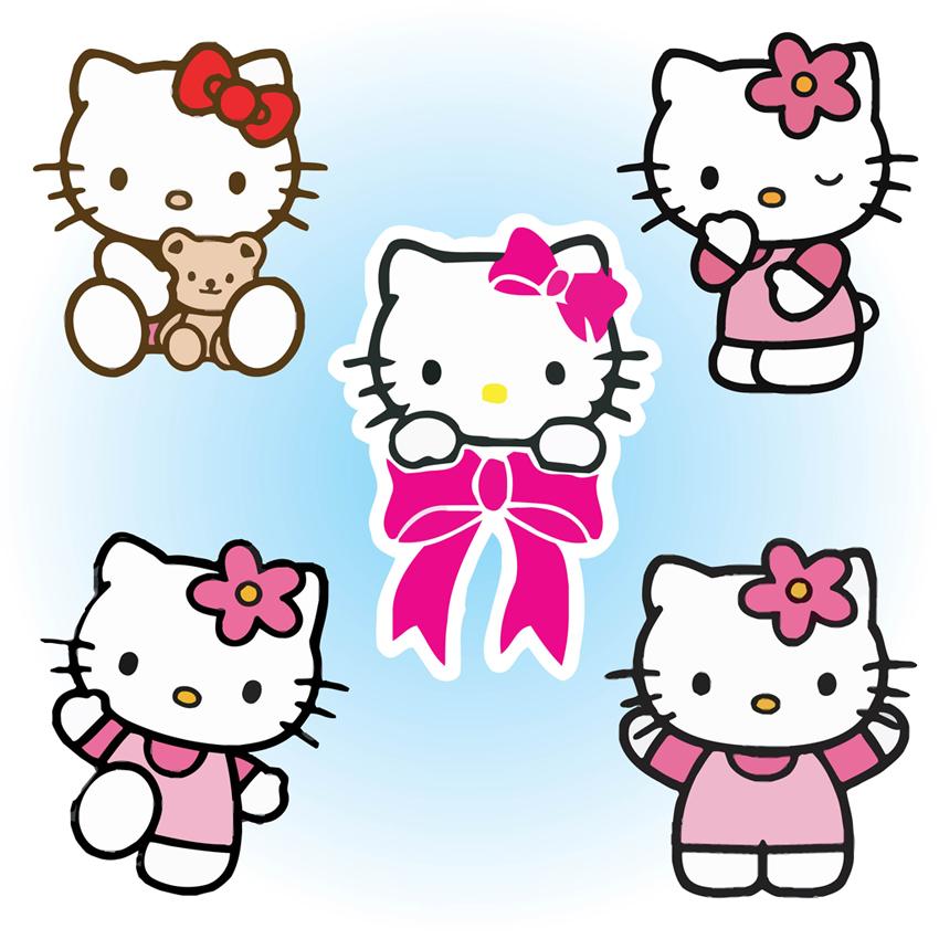 Free Hello Kitty Clipart Cliparts Co